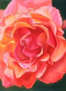 Orange Rose for moms