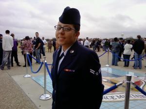 Jasmine Huertas USAF