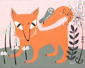 Fox and Owl by Sara Pulver