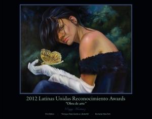 Latinas Unidas 2012 poster