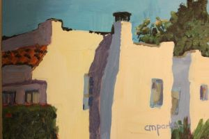 Parker,Christine, Santa Barbara Houses, Acrylic