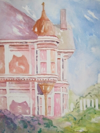Pink Victorian resized, Diane Dean